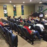 Reunião que deu início à construção do ONDAS durante o FAMA 2018, março de 2018, em Brasília 4