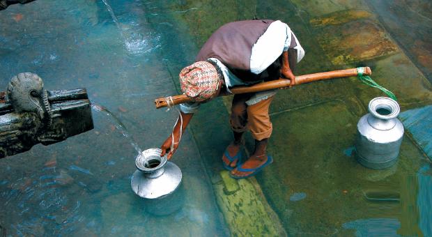pobreza da água