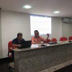 Reunião que deu início à construção do ONDAS durante o FAMA 2018, março de 2018, em Brasília 9