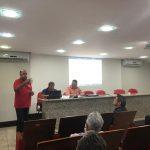 Reunião que deu início à construção do ONDAS durante o FAMA 2018, março de 2018, em Brasília 8