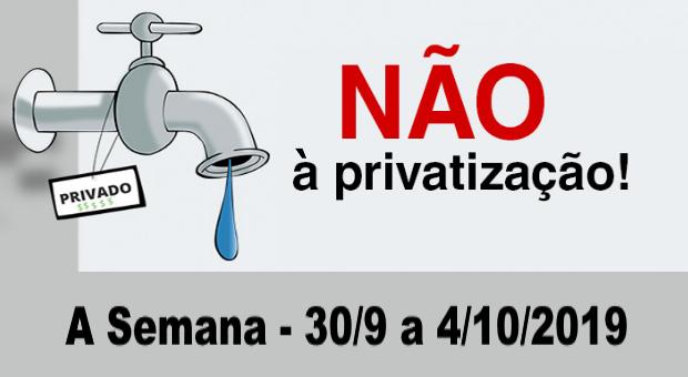 privatização do saneamento