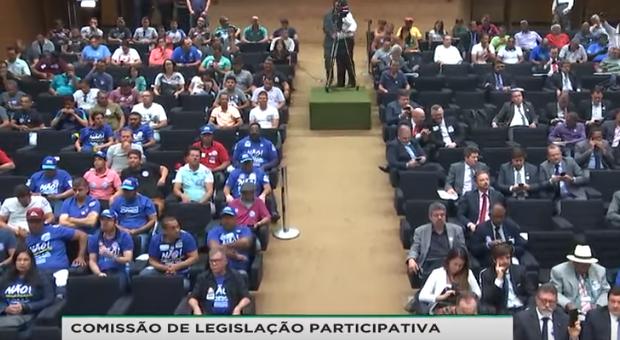 Seminário no Dia Nacional de Mobilização contra a Privatização da Água e do Saneamento