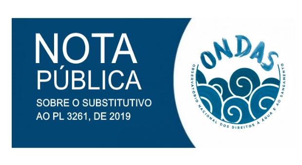 ONDAS assina nota conjunta sobre substitutivo ao PL 3261/2019 com mais oito entidades