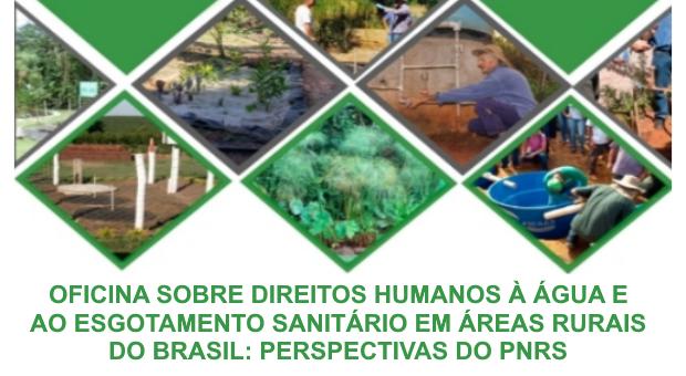 ONDAS realiza oficina sobre direitos humanos à agua e ao saneamento em áreas rurais
