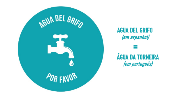 """campanha """"água da torneira por favor"""