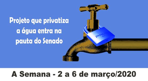 PL do saneamento