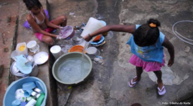 direito à água nas favelas