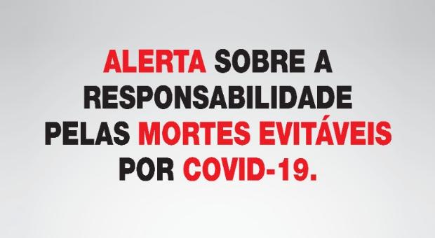 mortes evitáveis por covid-19