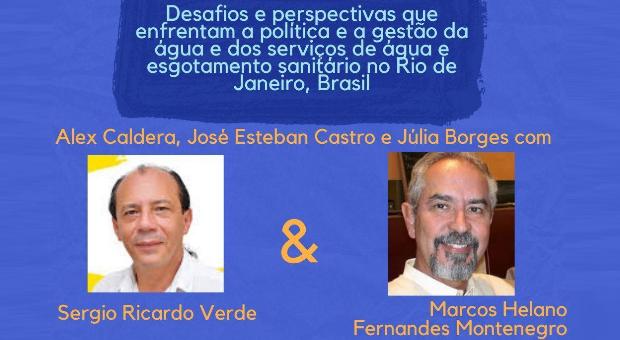 gestão da água no Rio de Janeiro