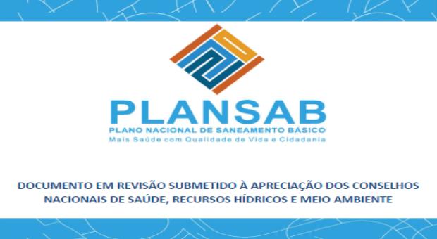 Plano Nacional de Saneamento Básico - Plansab 2019