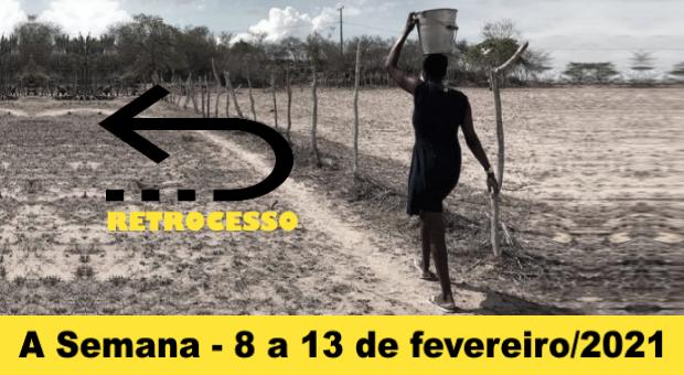 Governo federal desmonta programas e retira da população o direito de acesso à água