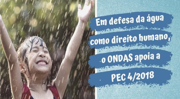 Nota do ONDAS em apoio à PEC 4/2018