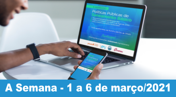 Seminário irá debater os impasses para implementar o direito à água no Brasil