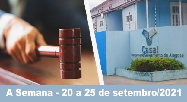Novo leilão do saneamento em Alagoas previsto para 13 de dezembro