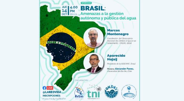 Webinar: Ameaças à gestão autônoma e pública da água (dia 14/10)